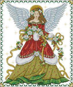 В цветах Рождества