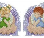 Ангелочки в ладонях