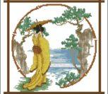 Гейша в желтом