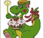 Новогодний дракоша