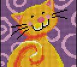 Улыбка желтого котика