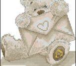 Мишка с любовным письмом