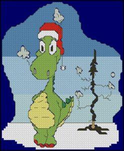 Рождественский дракончик