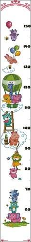 """Ростомер """"Jolly animals height"""""""
