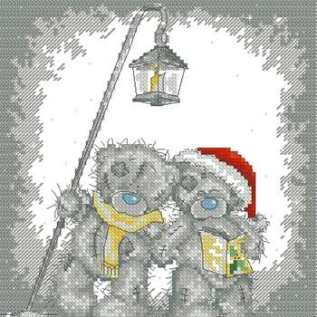 бесплатные схемы вышивки мишек Тедди