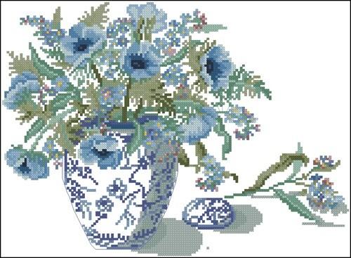 Незабудки в вазе
