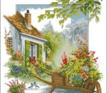 Красивый цветочный дворик