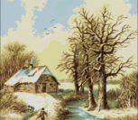 Румыния, зимний пейзаж