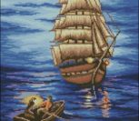 Парусник и лодка
