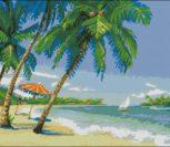 Море, пляж, пальмы
