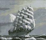 Парусник XIX века
