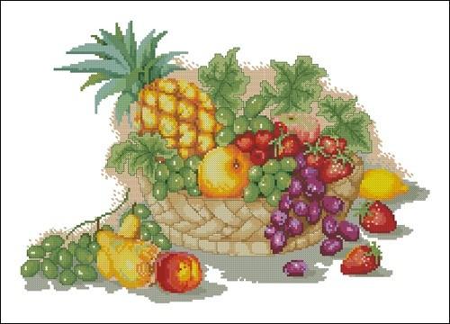 Salver of fruits