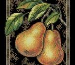Pears on Toile