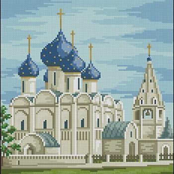 бесплатные схемы вышивки церквей и храмов