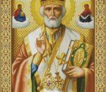 Николай Чудотворец (икона в золоте)