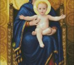 Solaria The Virgin and Child on the thr