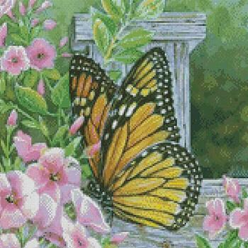 бесплатные схемы вышивки бабочек