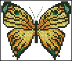 Motyl Zolty