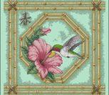 Hummingbird and Bamboo
