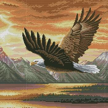 бесплатные схемы вышивки птиц