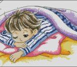 Нежный сон мальчика