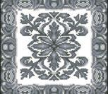 Монохромный орнамент для подушки 2