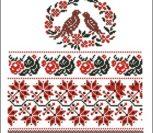 Орнамент для свадебного рушника