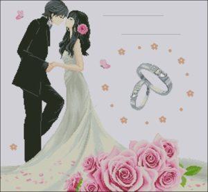 Свадьба молодожены, метрика