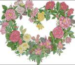 A Rose Heart Wreath