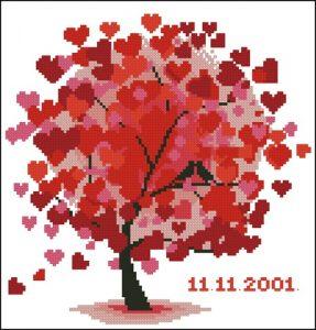 Красное дерево любви
