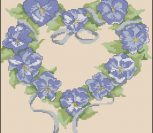 Couronne Pansies