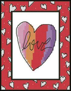 "Декоративное сердечко ""Love"""