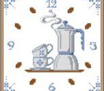 "Часы ""Чайник с чашками"""