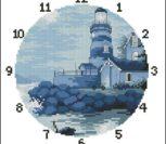 Циферблат часов, маяк