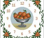 Часы с апельсинами
