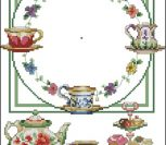 "Часы ""Утренний чай"""