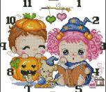 """Часы """"Хэллоуин"""""""