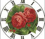 """Часы """"Две красные розы"""""""