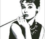 Одри Хепберн ч/б