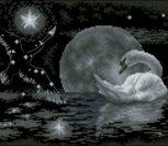 Moon swan