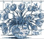 Indigo tulips