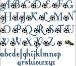 Алфавит футбольный (abc)