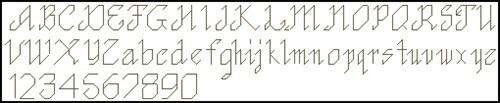 Простой английский алфавит