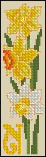 Bookmark - Narcissus