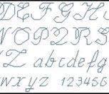 Письменные английские буквы