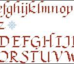 Английский алфавит (декоративный шрифт)