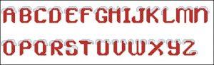 Janlynn 023-0210 alphabet