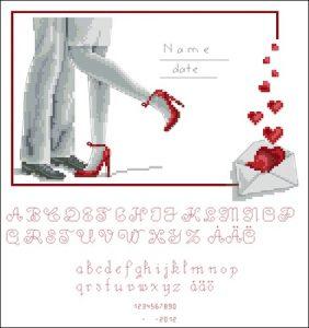 Свадебная метрика + Алфавит