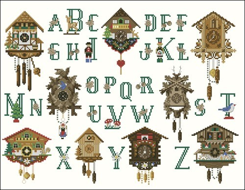 Рождественский алфавит ABC