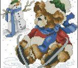 Медвежий календарь, январь.
